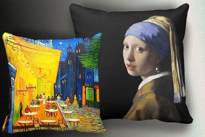 Classic Art Throw Pillows