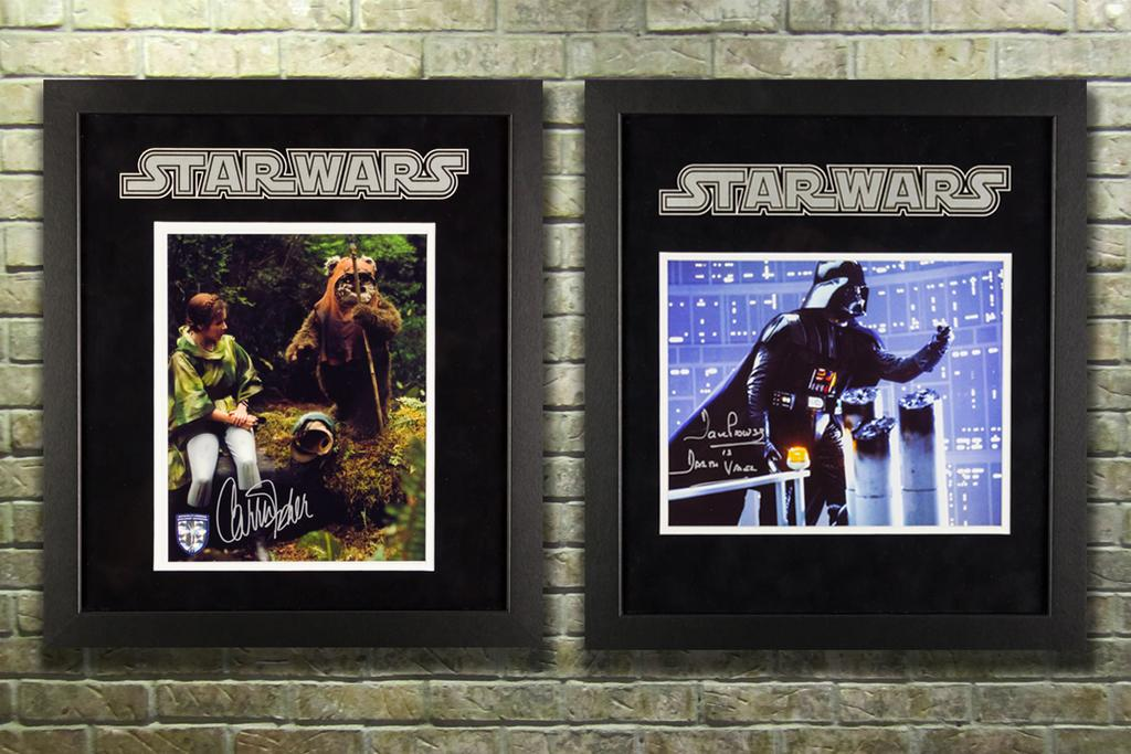 Signed Star Wars Memorabilia