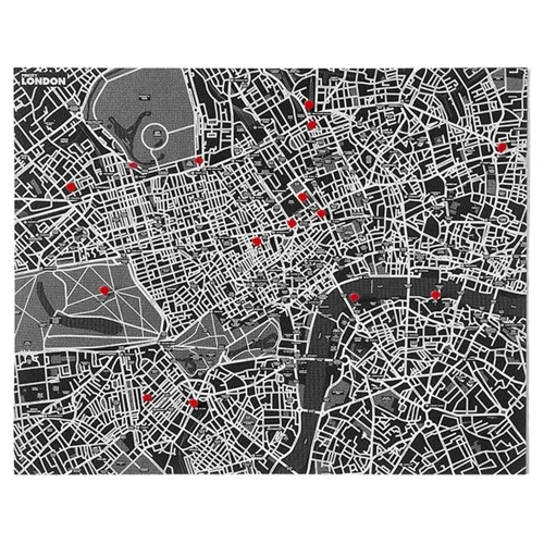 Pin City London - Black