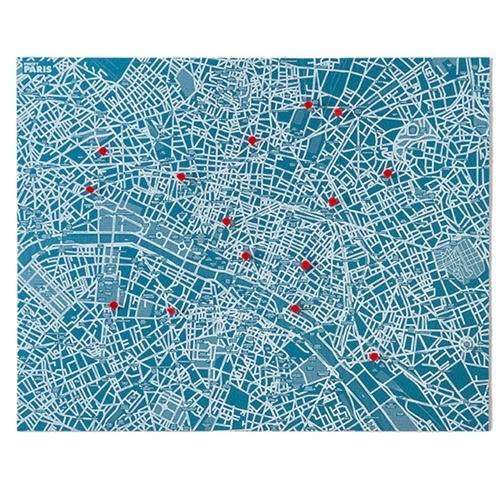 Pin City Paris - Blue