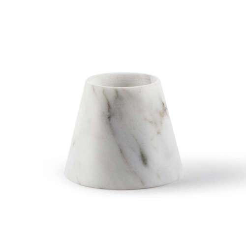 Candle Holder-Tellus Candle Holders Carrara Marble | Atipico