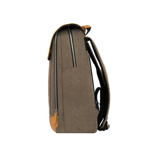 Flatsquare Rucksack   Grey, Brown, or Black   Venque