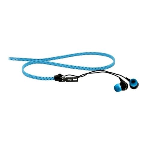 Zipper Earbuds, Pink, iHip