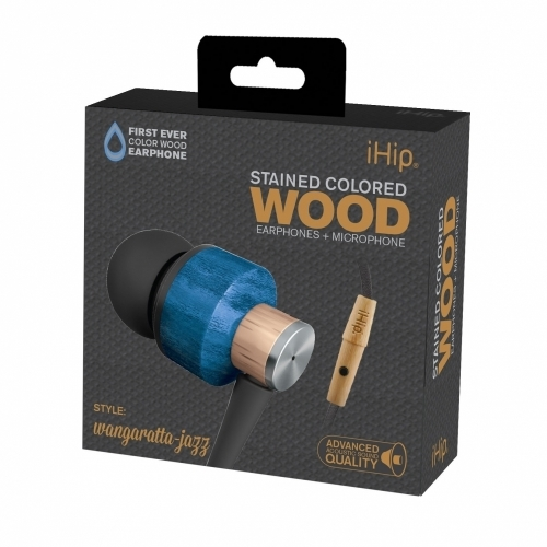 Wangaratta Jazz Wood Earphone