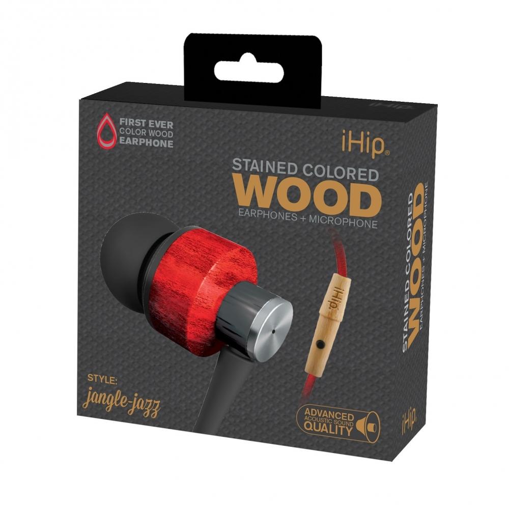 Jangle Jazz Wood Earphone, iHip