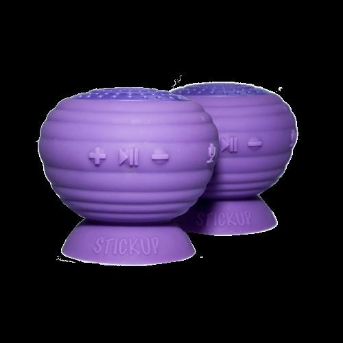 StickUp Stereo Speakers, Set of 2, Purple