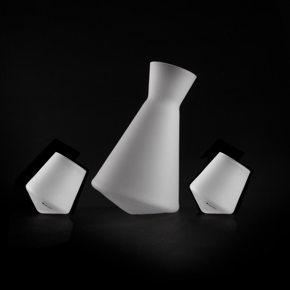 Sake Decanter & Glass Set | Vaso-Sake Set ICE | Sempli