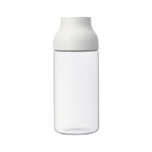 Capsule Water Carafe 0.7L, White, Kinto