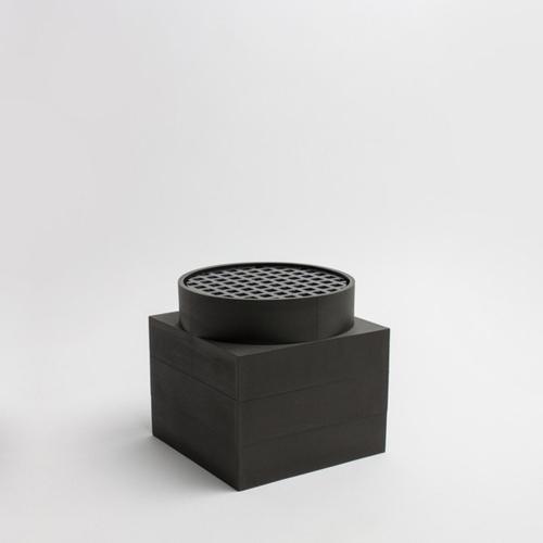 Tall Utility Vase   Black   Luur