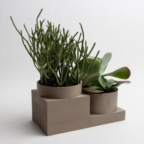 Tall Utility Vase | Brown | Luur
