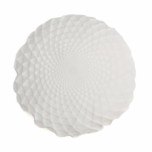 Noam Pillow Cover, White, Mikabarr