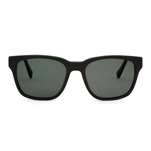 Polarized Brickma Matte Black Sunnies | Parkman Sunglasses