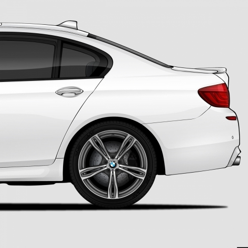 BMW M5 Generations Print, Unrivaled