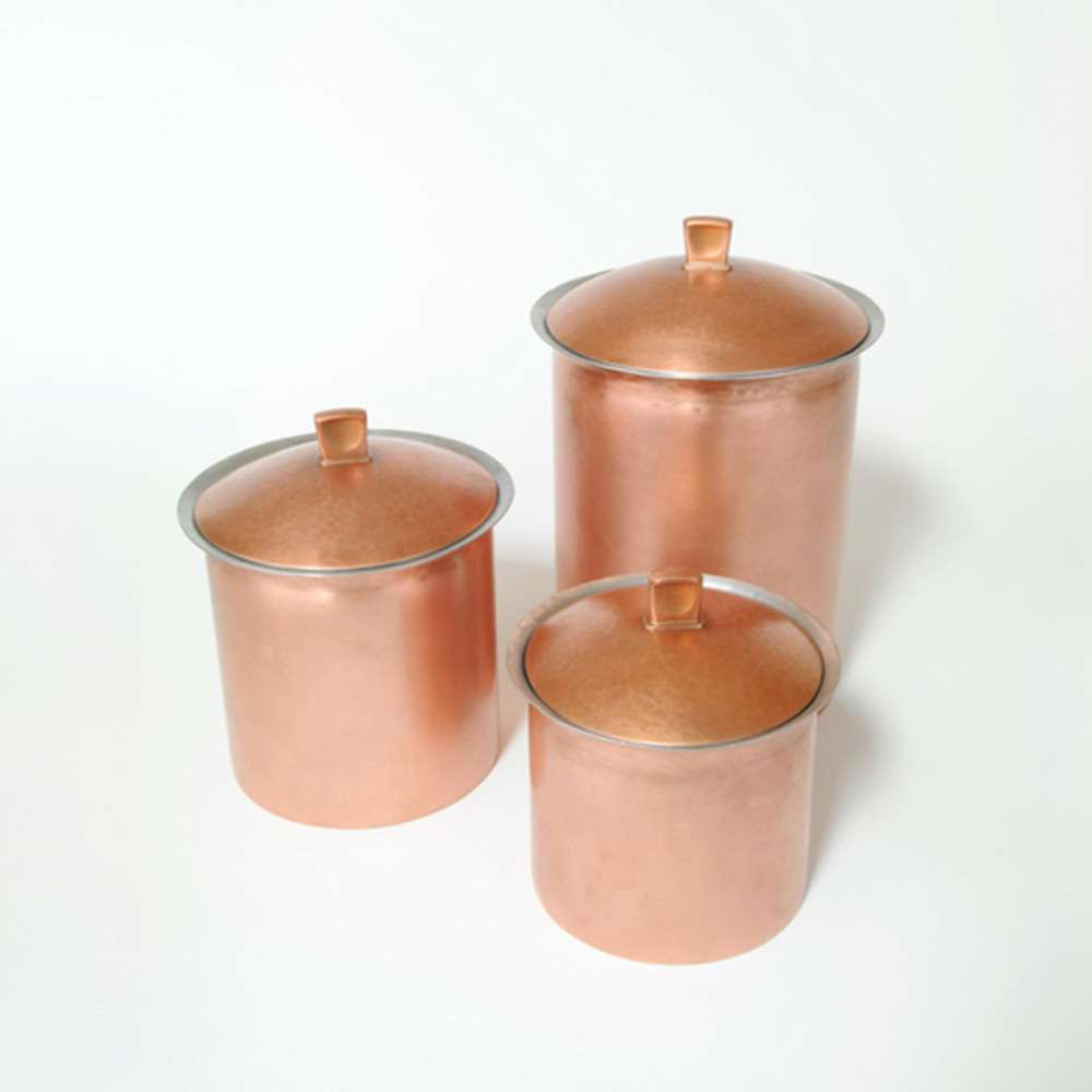 Tin Copper Canister, Smith Shop Detroit