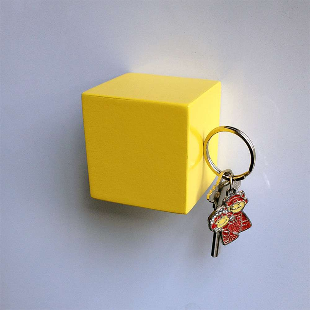 Kube Key Holder, Yellow, Tat Chao