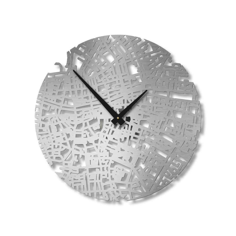 Dublin Clock   Urban Story   Design Timepieces   Wall Clock