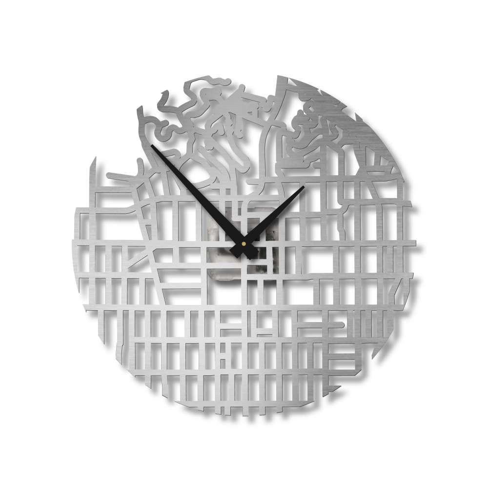 Map of Hollywood City Clock   City Clocks   Urban Story
