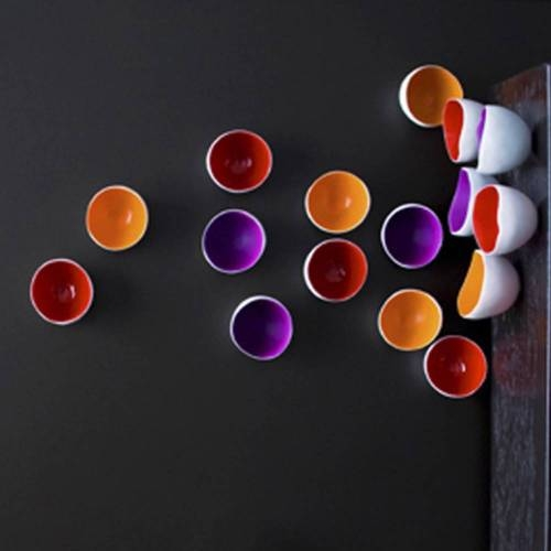 Color 'Seed' Wall Play, Set of 10 - Contemporary Wall Decoration
