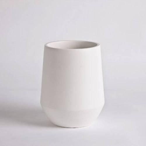 Fusion Vase, White