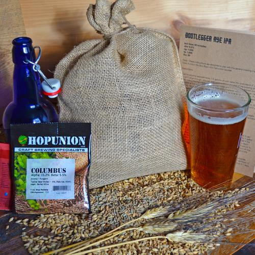 Beer Brewing Recipe Pack | Bootlegger Rye IPA | Box Brew Kit