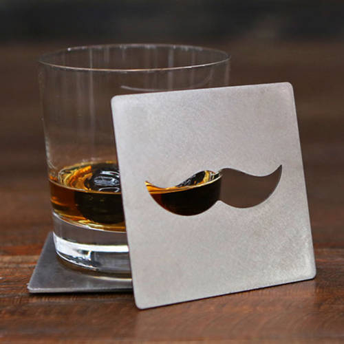 Mustache Coaster