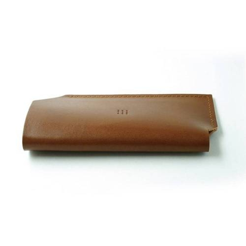 502 iPhone 6/6 PLUS Sleeve, Brown - Leather iPhone Sleeve