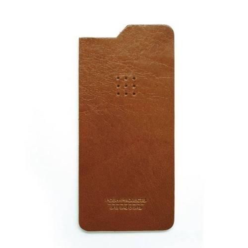 504 iPhone 6 Leather Skin, Brown