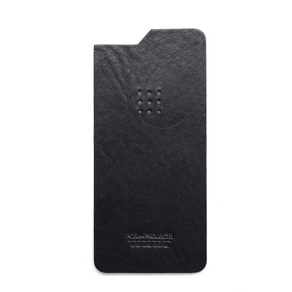 504 iPhone 6 Leather Skin, Black - Leather iPhone Skin