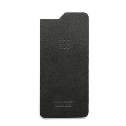 504 iPhone 6 Leather Skin, Charcoal