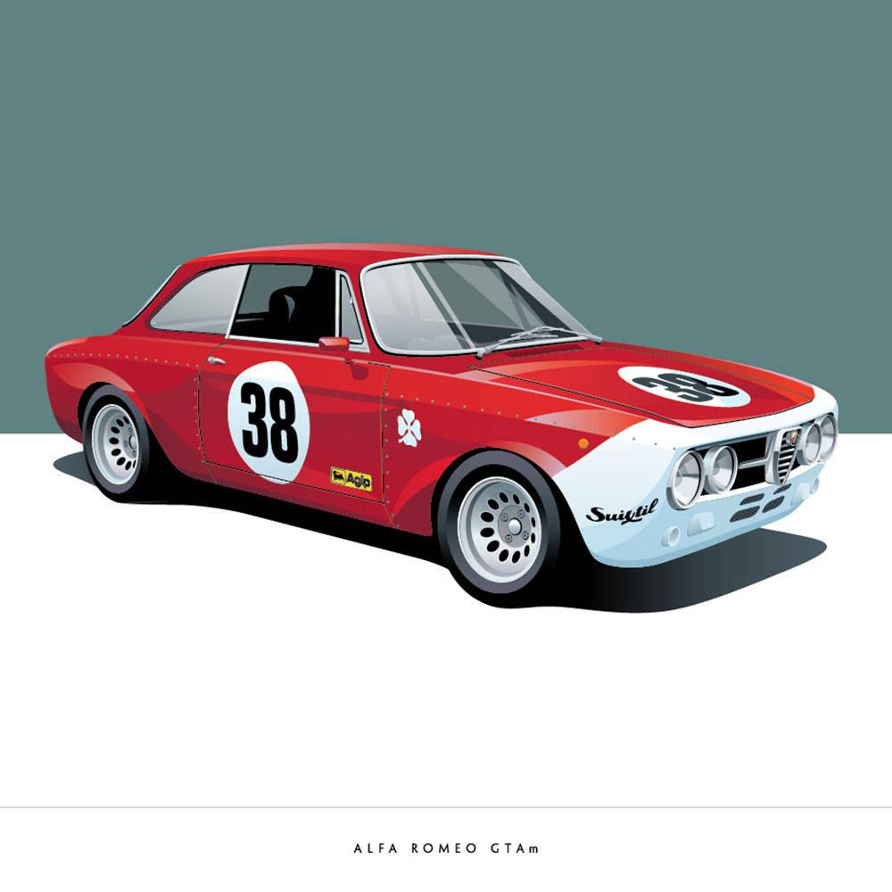 Alfa Romeo GTAm - Arthur Schening