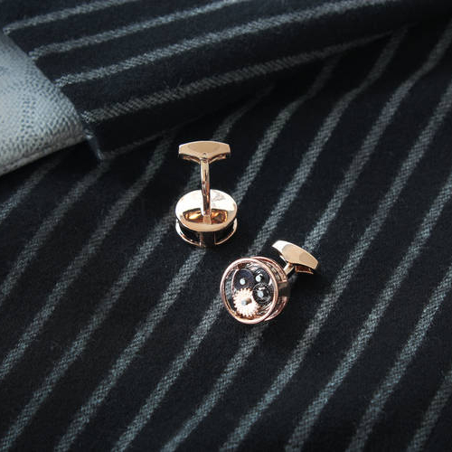 Oval Skeleton Rose Gold