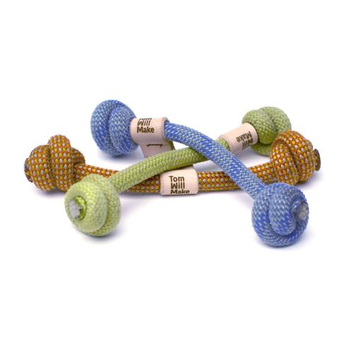 Rope Bone Dog Toy | Tom Will Make | Reclaimed Climbing Rope