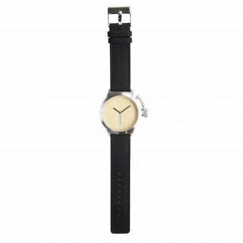 Seaval Watch, Maple/Black