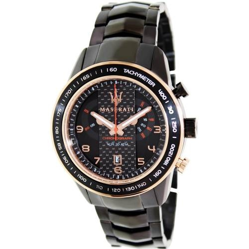 Corsa Black Stainless Steel Analog Watch - Area Trend