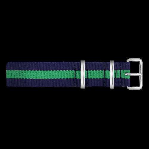 Silver Line Watch, Navy/Green - Paul Hewitt