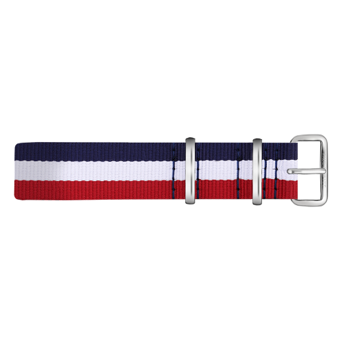 Silver Line Watch, Navy/White/Red - Paul Hewitt