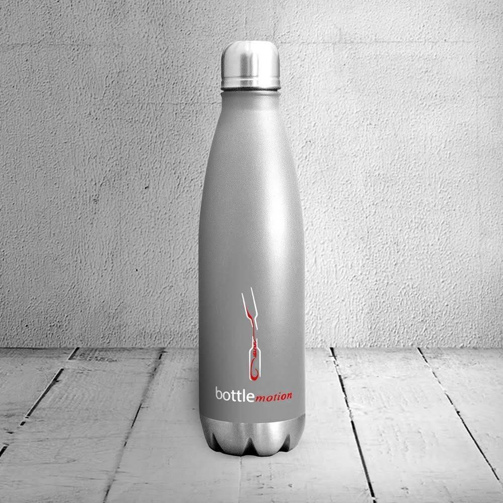 Portable Decanter | Wine Decanter Grey 750ml | Bottle Motion