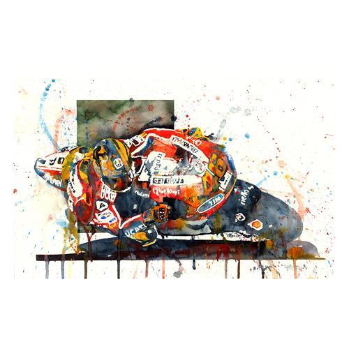Print | Valentino Rossi | MotoGP | Ducati