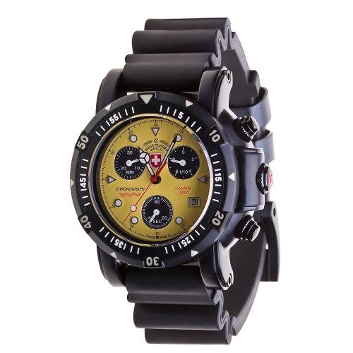 Swiss Military Watches  - SEEWOLF I SCUBA NERO, Yellow