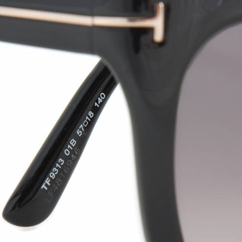 Tom Ford TF9313 01B Asian  - Black Frame Black Lens