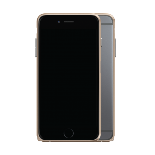 Slim Aerospace Aluminum Bumper for iPhone 6s, Champagne