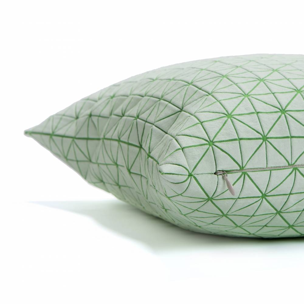 Geo Origami Pillow Cover, Mikabarr