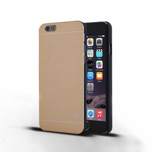 Slim Aluminum iPhone 6 Case | Gold | Krown
