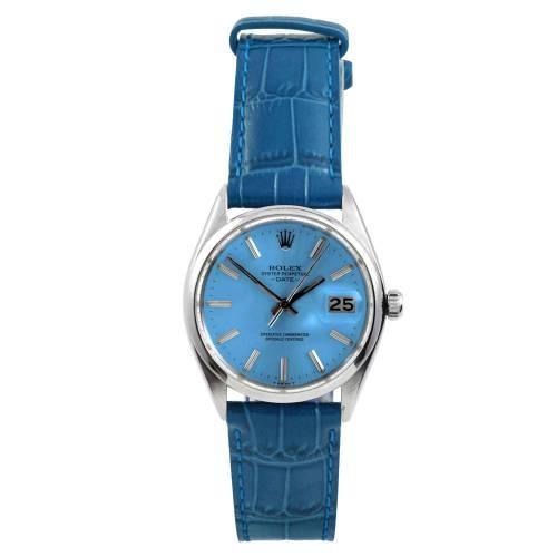 Rolex Stainless Steel Date Watch