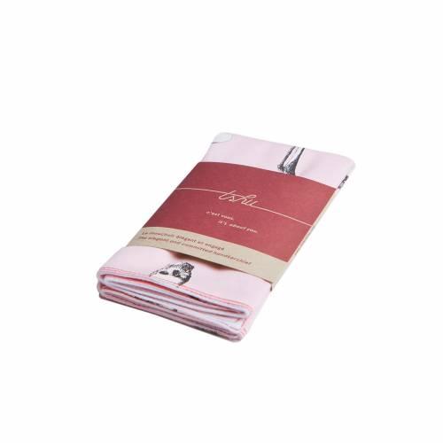 Leonard Two-ply Handkerchief