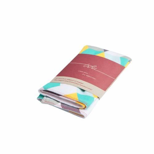 Moshe Two-ply Handkerchief