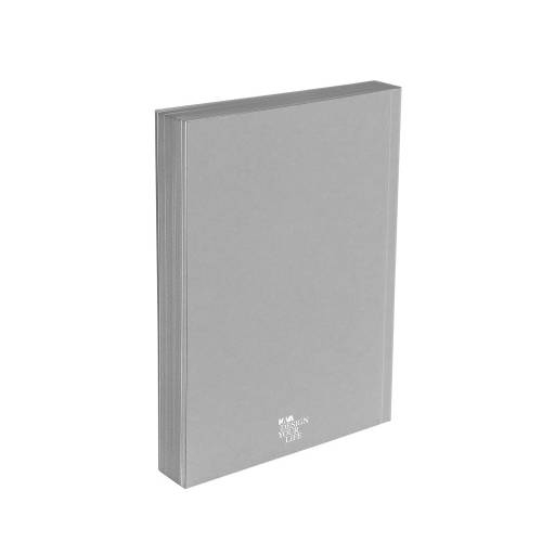 Designer A5 Diary/Journal My Book by Denis Guidone, Grey