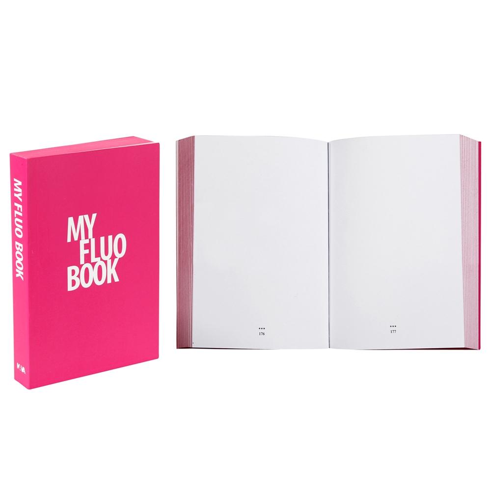 My Fluo Book, Magenta (1 pc.)