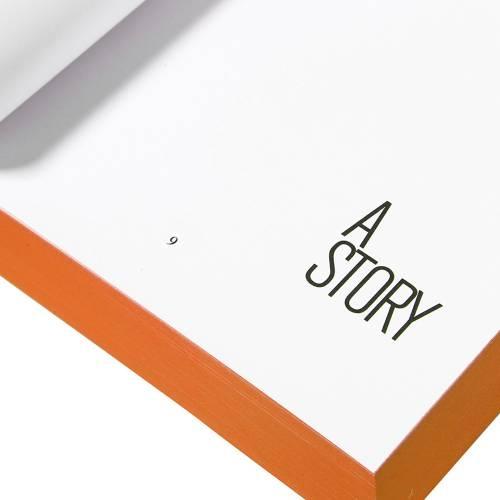 Designer Pocket Diary/Journal My Fluo Book, Orange