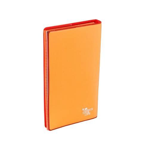 Work 1 Pocket Vertical Spiral Wire-O, Orange